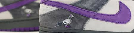 "Nike SB Dunk Low ""Purple Pigeon"" Patch"