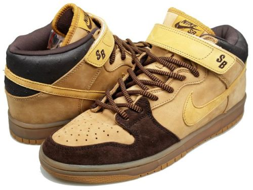 "Nike SB Dunk Mid ""Wheat"""