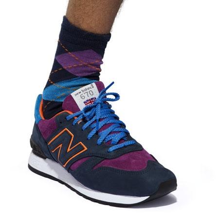 Wood Wood x New Balance 670 and Socks
