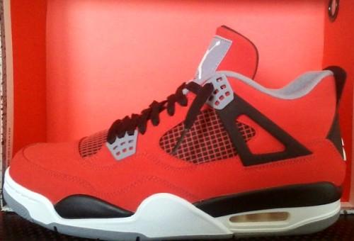 "Air Jordan 4 ""Toro"" uploaded by Alex Garcia"