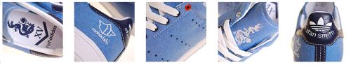 maharishi x Adidas Originals Stan Smith Details