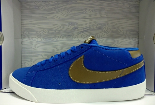 Nike SB Blazer CS Blue Sapphire-Dark Khaki uploaded by gletscher3000