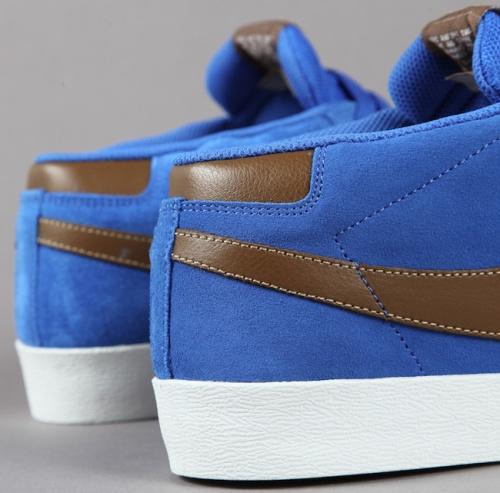 Nike SB Blazer CS Heel Blue Sapphire-Dark Khaki