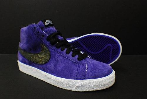 "Nike SB Blazer ""Purple Suede"""