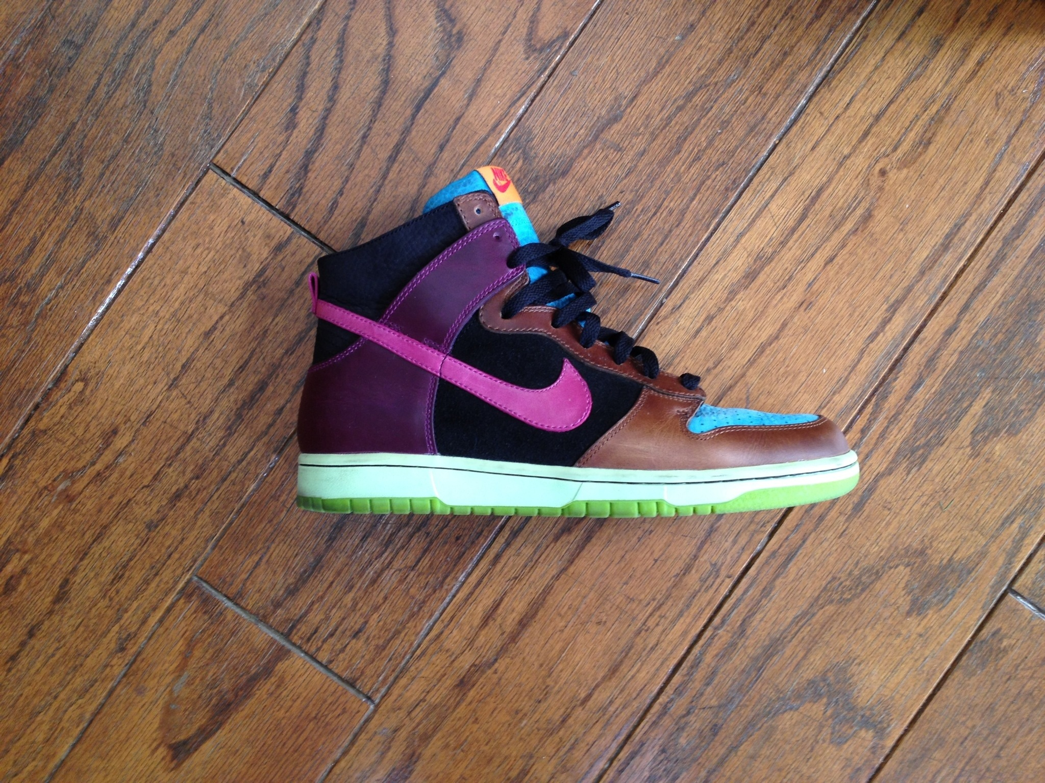 nike undefeated black nike high top basketball shoes