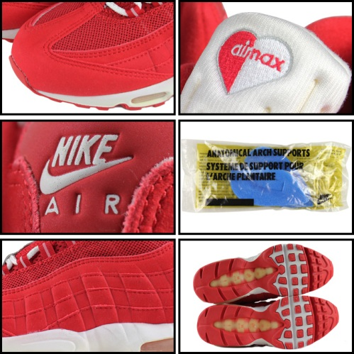 """Nike WMNS Air Max 95 """"Valentine's Day"""" Collage"""