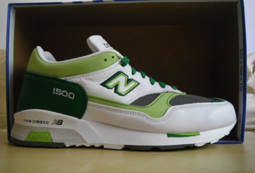 Crooked Tongues x New Balance 1500 White/Green uploaded by Fazz