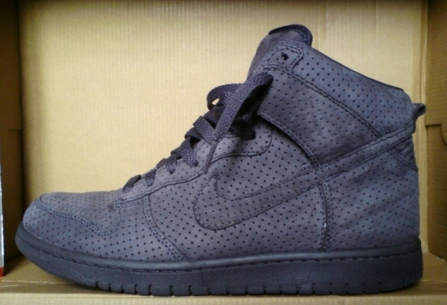 "DQM x Nike Dunk High Premium ""Cave Purple"" uploaded by Infidel_Castro"