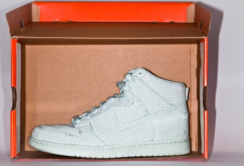 "DQM x Nike Dunk High Premium ""Ice Green"" uploaded by Rido"
