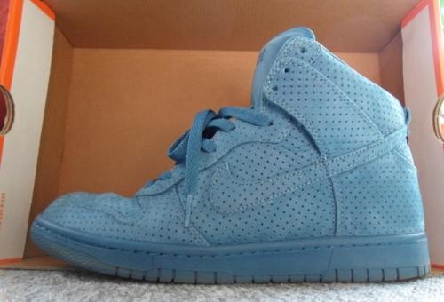 "DQM x Nike Dunk High Premium ""Industrial Blue"" uploaded by Wildsau"