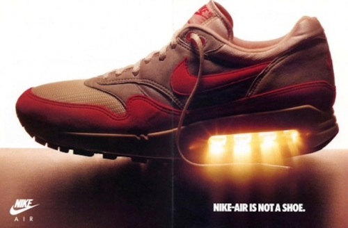 Nike Air Is Not A Shoe Ad