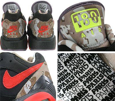 Opium x Nike Air 180 Details